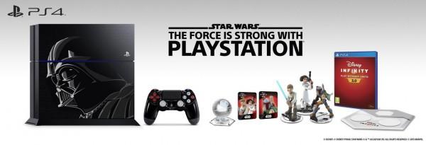 Pack PlayStation 4 Edición Limitada Darth Vader Infinity 3.0: Star Wars