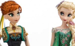 Elsa y Anna Edición Limitada Frozen Fever.