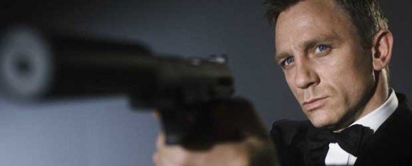 Daniel Craig como el Agente 007 James Bond