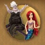 Ariel y Úrsula de La Sirenita Disney Fairytale Collection