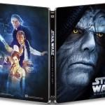 Star Wars Episodio VI Edición Metálica Blu-ray Contraportada