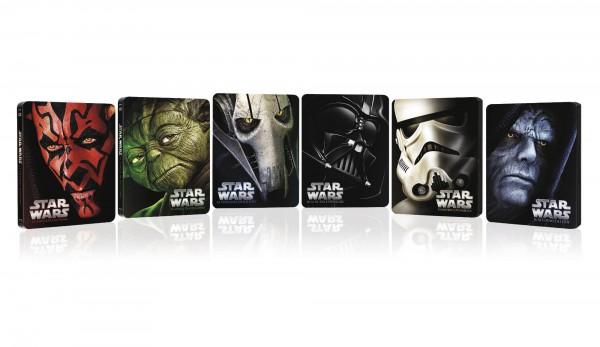 Steelbooks limitados de Star Wars en Blu-ray para noviembre