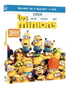 Edición Combo 3D de Los Minions
