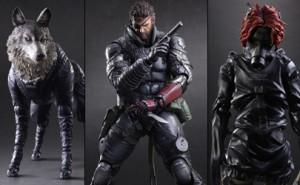 Figuras Metal Gear Solid V: The Phantom Pain de Play Arts Kai