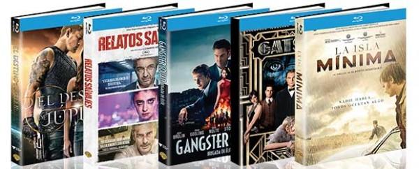Digibooks Warner en Blu-ray para Otoño 2015