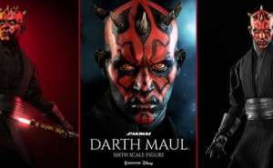 Figura Darth Maul Duel on Naboo de Sideshow