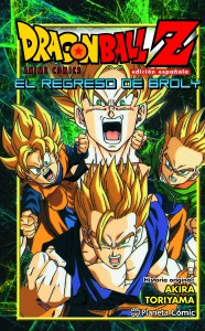 Portada de Dragon Ball Z El Regreso de Broly