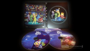 Del Revés (Inside Out) Steelbook