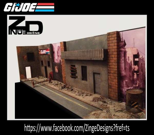 Diorama para G.I. Joe
