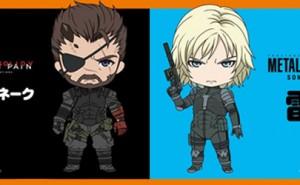 Figuras Nendoroid de Venom Snake y Raiden de Metal Gear Solid