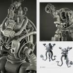 Extractos de The Art of Fallout 4