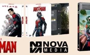 Ant-man Blu-ray Ediciones Limitadas Novamedia