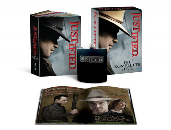 Justified Gift Set Serie Completa Blu-ray