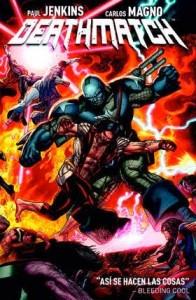 Portada del primer volumen de Deathmatch