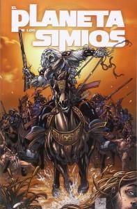 Portada del Volumen 2 de El Planeta de los Simios