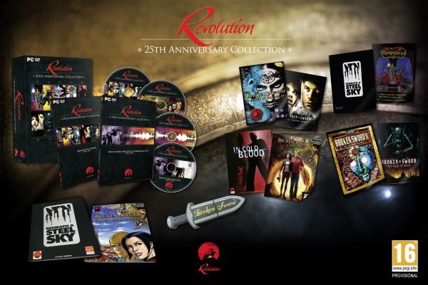 Contenido de Revolution: La Colección del 25 Aniversario