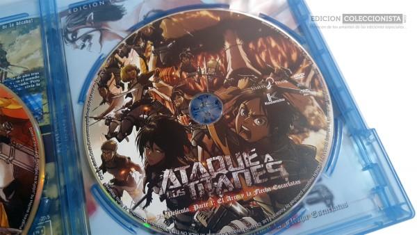 Parte de la edición de Ataque a los Titanes
