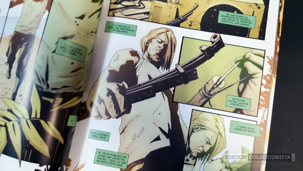 Página de Green Arrow - Año Uno