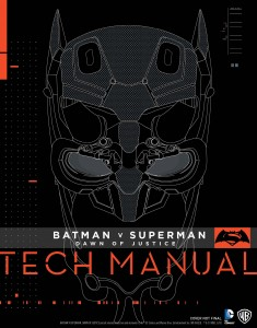 Artbook Tech Manual de Batman vs Superman: El Amanecer de la Justicia