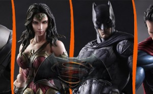 Figuras Batman V Superman Play Arts Kai