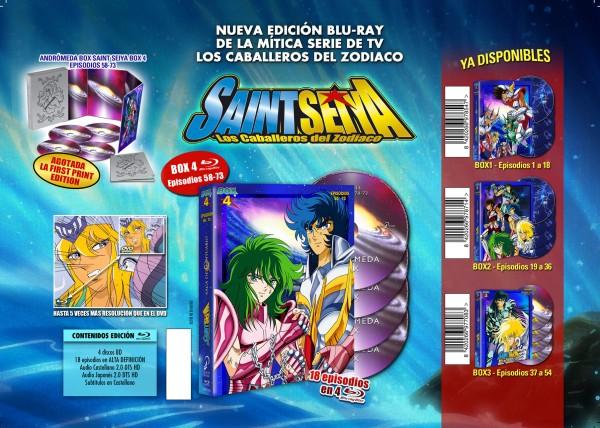 Saint Seiya Box 4