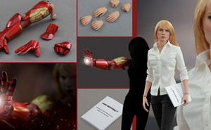 Figura Pepper Potts Iron Man 3 de Hot Toys