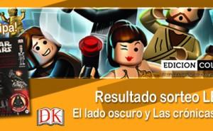 Resultado Sorteo libros Star Wars LEGO DK