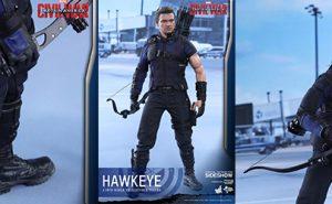 Hawkeye - Ojo de Halcón, de Capitán América: Civil War