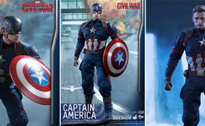 Figuras Capitán América Civil War de Hot Toys