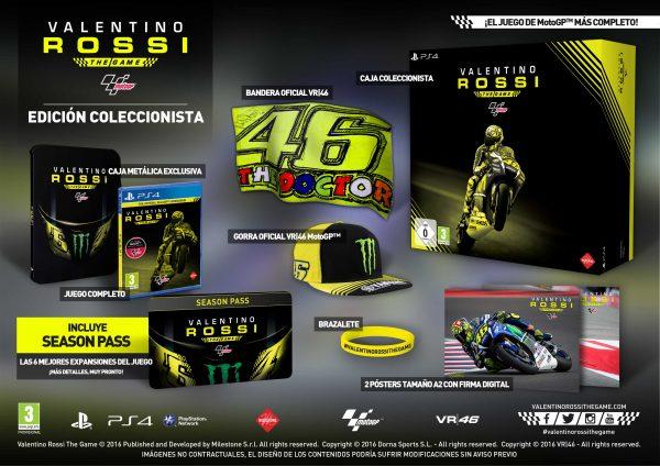 MotoGP16 Valentino Rossi The Game Edición Coleccionista 1