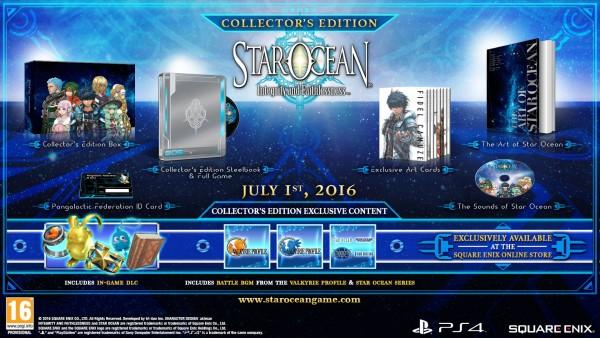 Star Ocean: Integrity and Faithlessness - Edición coleccionista