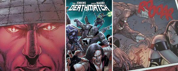 Deathmatch Volumen2: Los Mil Cortes, de Aleta Ediciones