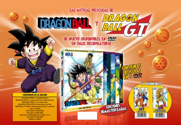 Las películas de Dragon Ball: box 3