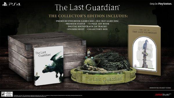 Contenido de la Edición Coleccionista de The Last Guardian