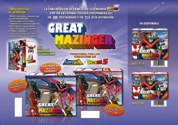 Great Mazinger box 2
