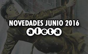 Novedades Aleta Ediciones Junio 2016