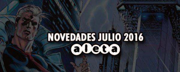 Novedades de Julio Aleta Ediciones