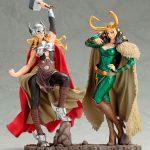 Figuras Marvel Thor y Lady Loki Colección Bishoujo