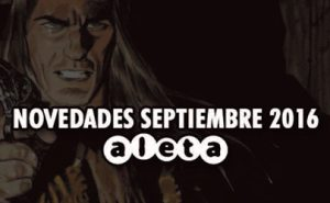 Novedades Aleta Ediciones para el mes de Septiembre