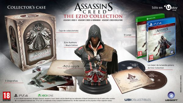 Contenido de la Collector's Case de Assassin's Creed: The Ezio Collection