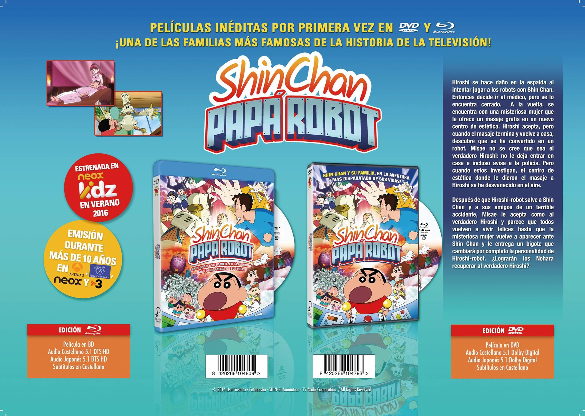 Shin Chan Papa Robot