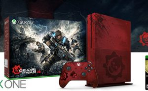 Xbox One S Edición Limitada Gears of War 4