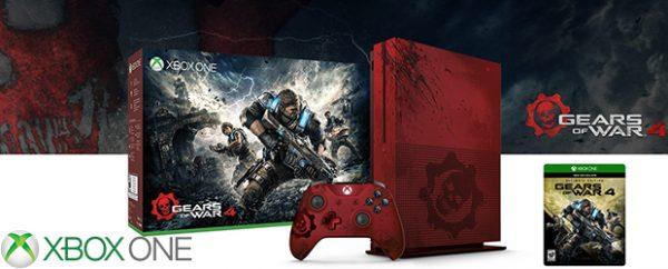 Xbox One S Edición Limitada Gears of War 4