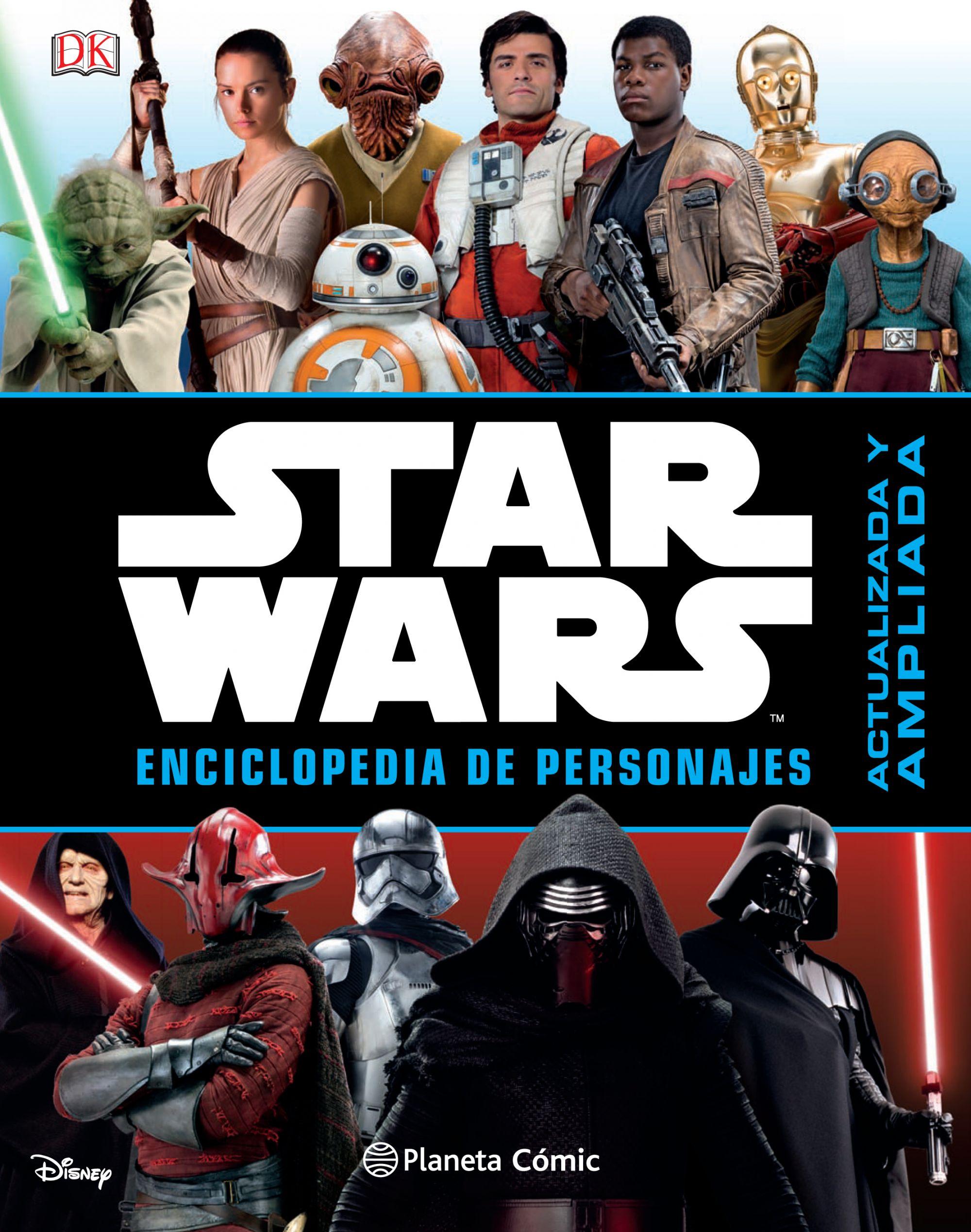 Portada SW Eenciclopedia de Personajes