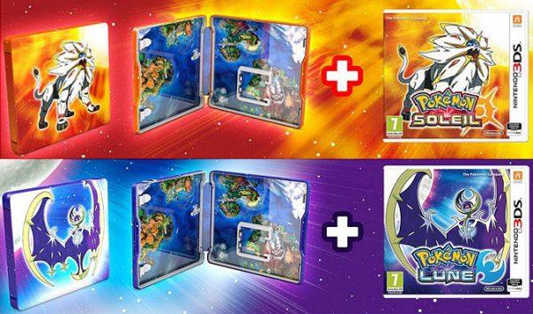 Las Ediciones De Pokemon Sol Y Luna Para Nintendo 3ds