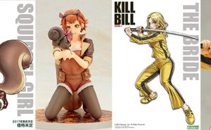 Squirrel Girl y The Bride Colección Bishoujo de Kotobukiya