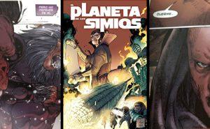 Portada del Volumen 3 de El Planeta de los Simios: Hijos del Fuego