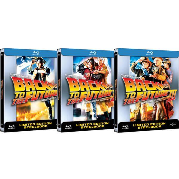 Edición Limitada Steelbook de Regreso al Futuro en Blu-ray