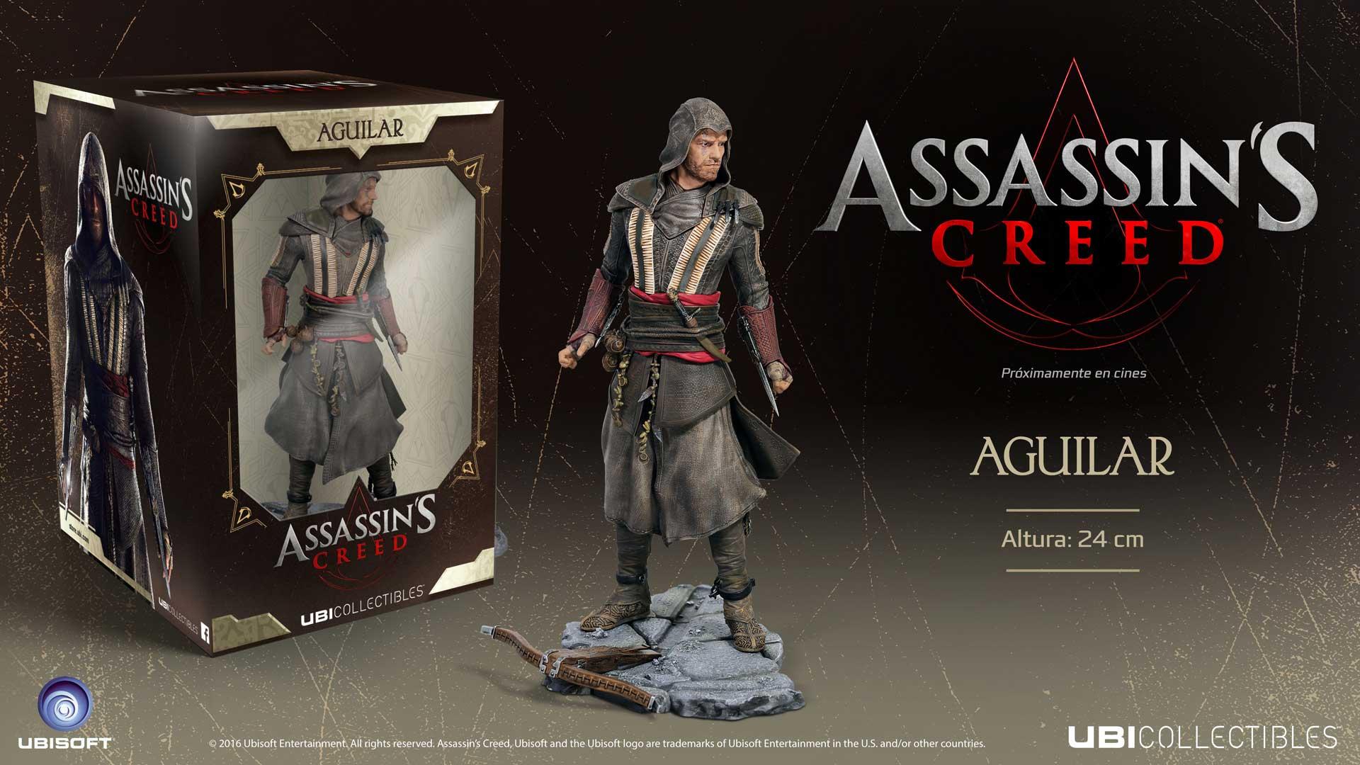 Figuras y Merchandising de la película Assassin's Creed