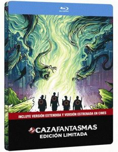 Cazafantasmas 2016 Steelbook Blu-ray